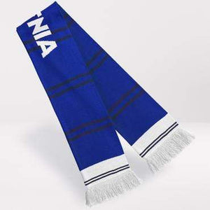 Fans Favourite Everton Retro Football Scarf 1983-85 Home Shirt