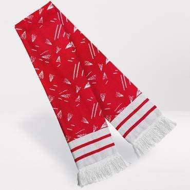 Fans Favourite Liverpool Retro Football Scarf 1989-91 Home Shirt