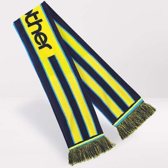 Fans Favourite Manchester City Retro Football Scarf - 1998-'99 Away