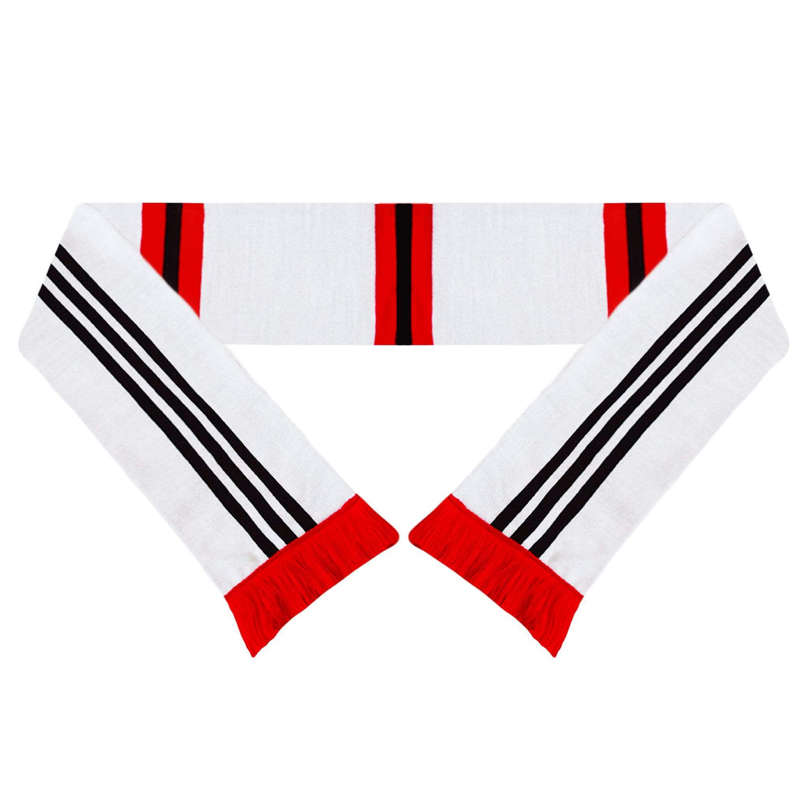 Fans Favourite Manchester United Retro Football Scarf 1975-80 Away Shirt