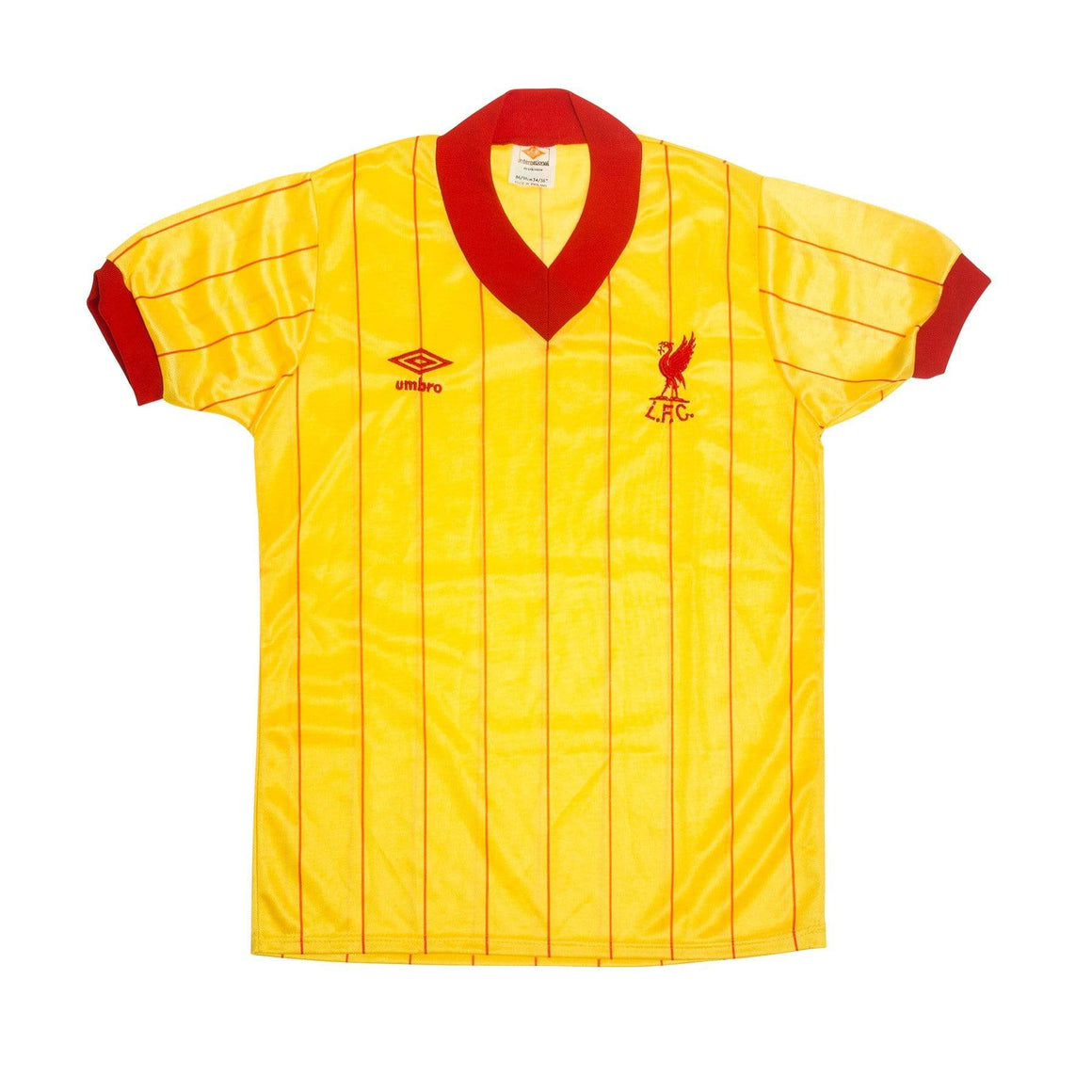 Football Shirt Collective 1981-84 Liverpool away shirt S Excellent