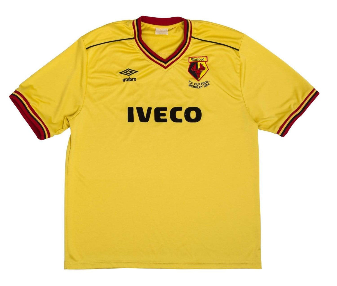 1982-85 Watford Home Shirt #9 (Excellent) L - Football Shirt Collective