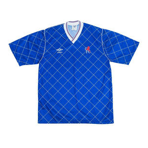 1987-89 Chelsea home football shirt M (Excellent) - Football Shirt Collective