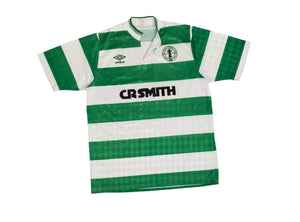 1988-89 Celtic centenary home football shirt M (Excellent) - Football Shirt Collective