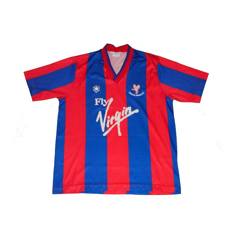 Football Shirt Collective 1988-90 Crystal Palace home shirt M (Excellent)