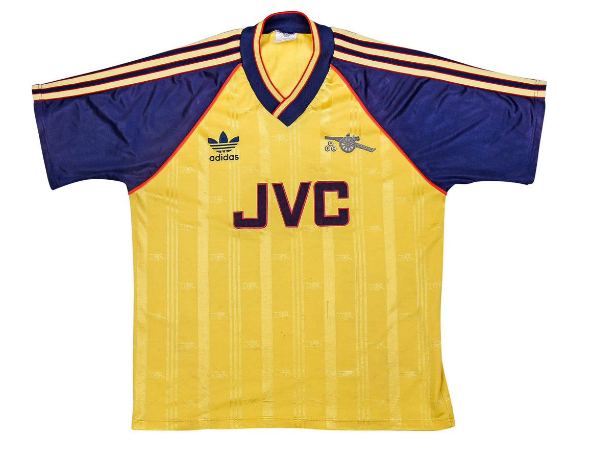 1988-91 Arsenal Away Shirt L (Excellent) - Football Shirt Collective