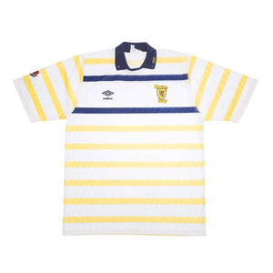 1988-91 Scotland Away Shirt XL (Excellent) - Football Shirt Collective