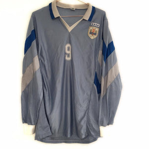1988 Uruguay home shirt L/S XL #9 - Football Shirt Collective