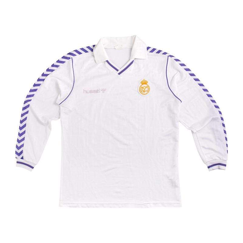 Football Shirt Collective 1989-90 Real Madrid LS Hummel XL Excellent