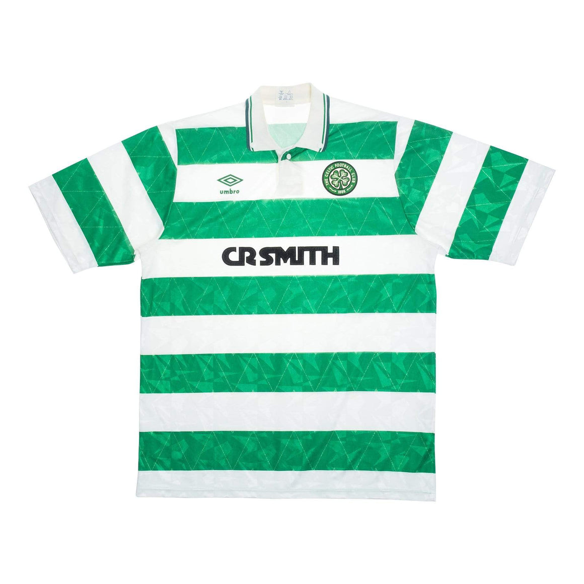 1989-91 Celtic home football shirt M (Excellent) - Football Shirt Collective