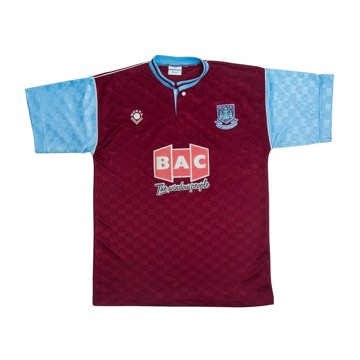 1989-91 West Ham home shirt XS - Football Shirt Collective