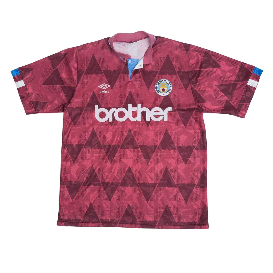 1990-92 Manchester City Away Shirt S - Football Shirt Collective