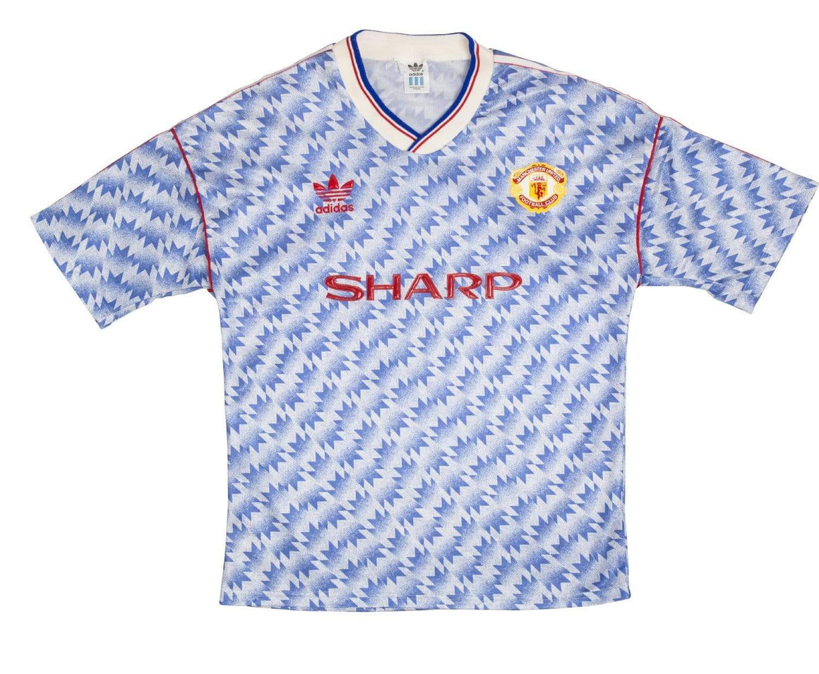 1990-92 Manchester United away L (Excellent) - Football Shirt Collective