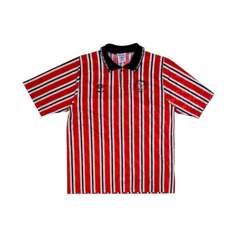 Football Shirt Collective 1990-92 Sheffield United Home Shirt (Excellent) S