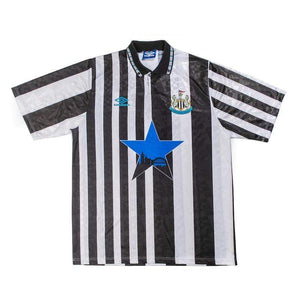 Football Shirt Collective 1990-93 Newcastle United home shirt XL (Excellent)