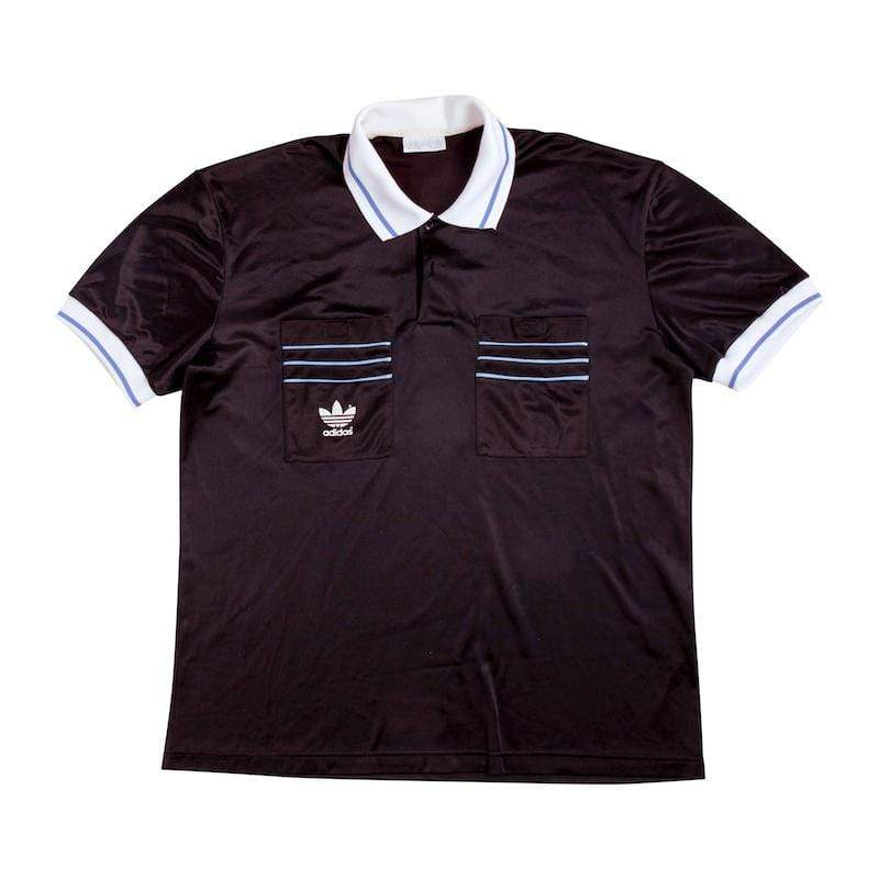 Football Shirt Collective 1990 adidas referee shirt L Excellent