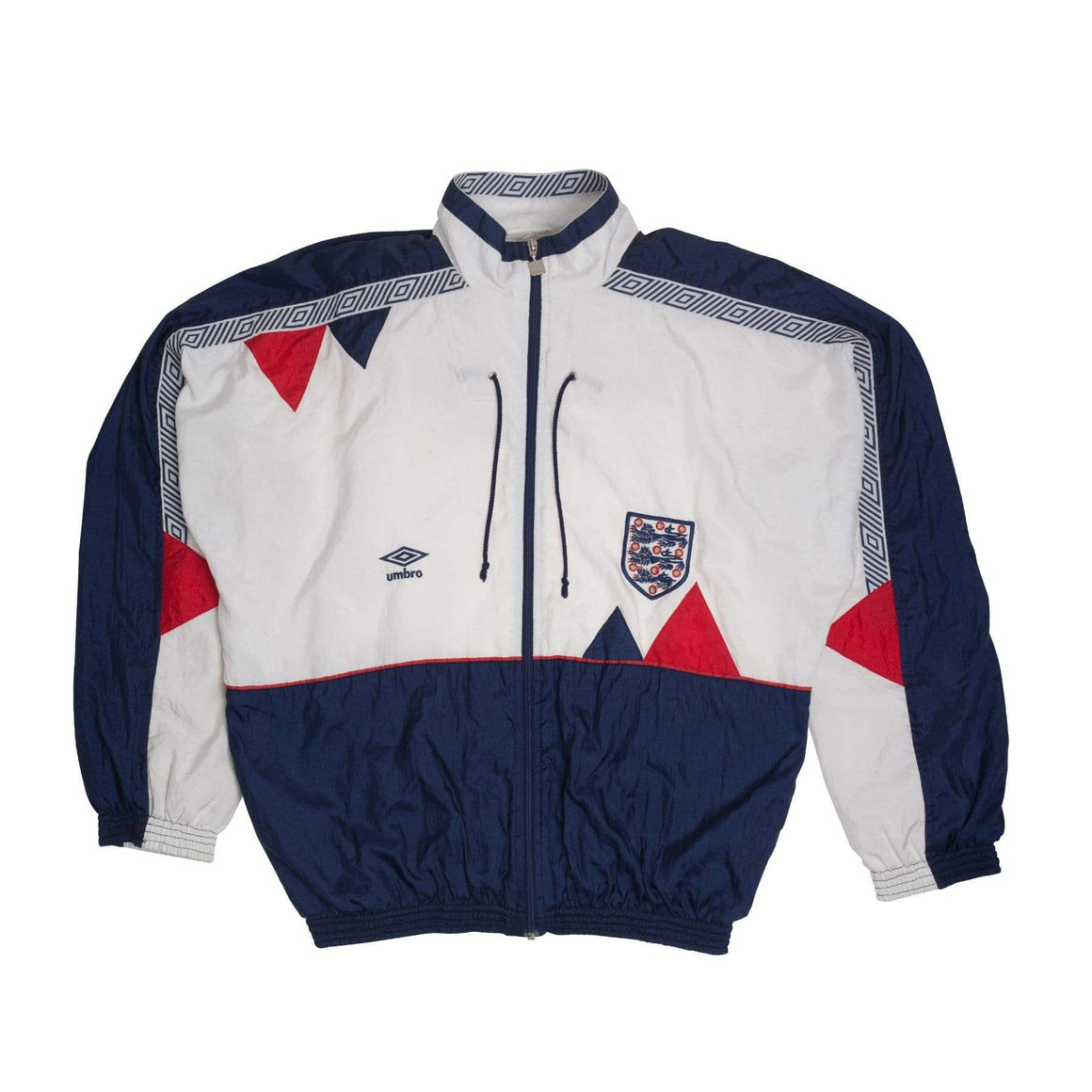 Football Shirt Collective 1990 England x Umbro Track Top (Excellent)