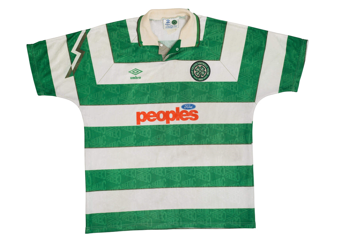 1991-92 Celtic home shirt L (Very Good) - Football Shirt Collective