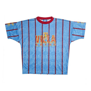 1991-93 Aston Villa Training Top (Excellent) - Football Shirt Collective