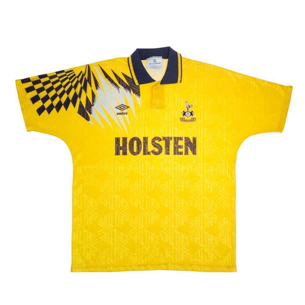 1991-95 Tottenham Hotspur Away Shirt L - Football Shirt Collective