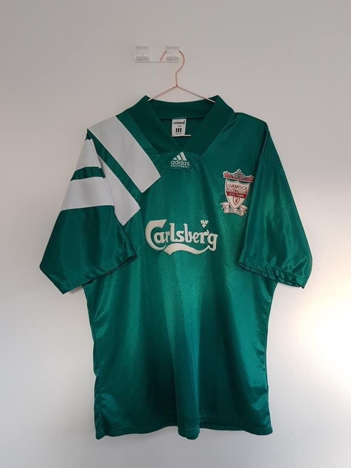 1992-93 Liverpool Away shirt L Excellent - Football Shirt Collective