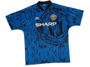 1992-93 Manchester United Away Shirt M Excellent - Football Shirt Collective