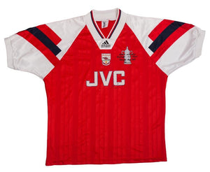 1992-94 Arsenal FA Cup Winners shirt Mint XL - Football Shirt Collective