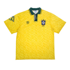 1992-94 Brazil shirt L Excellent - Football Shirt Collective