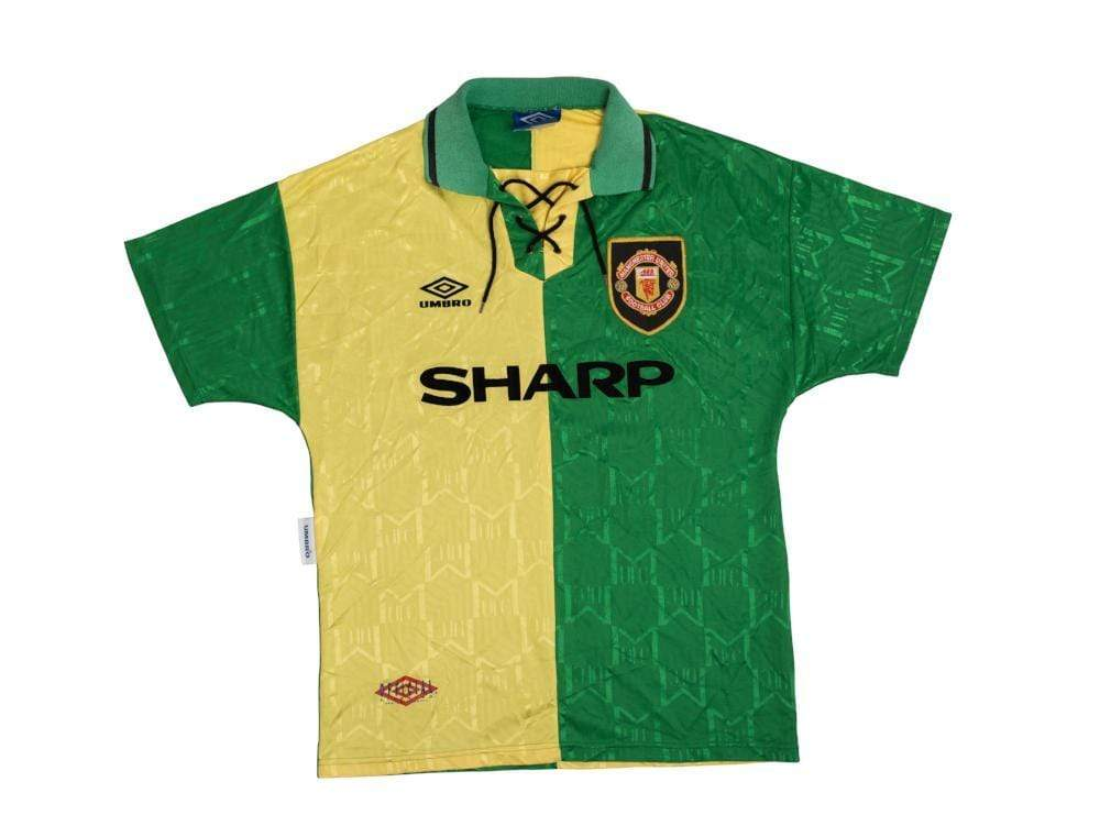 1992-94 Manchester United Newton Heath 3rd Shirt Excellent M - Football Shirt Collective