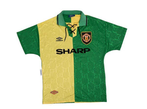 1992-94 Manchester United Newton Heath 3rd Shirt Excellent S - Football Shirt Collective