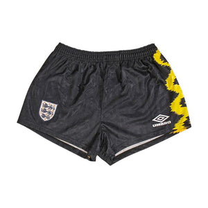 Football Shirt Collective 1992 England goalie shorts (Excellent) S