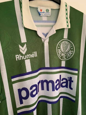 1993 - 1994 Palmeiras Home Shirt #8 L - Football Shirt Collective