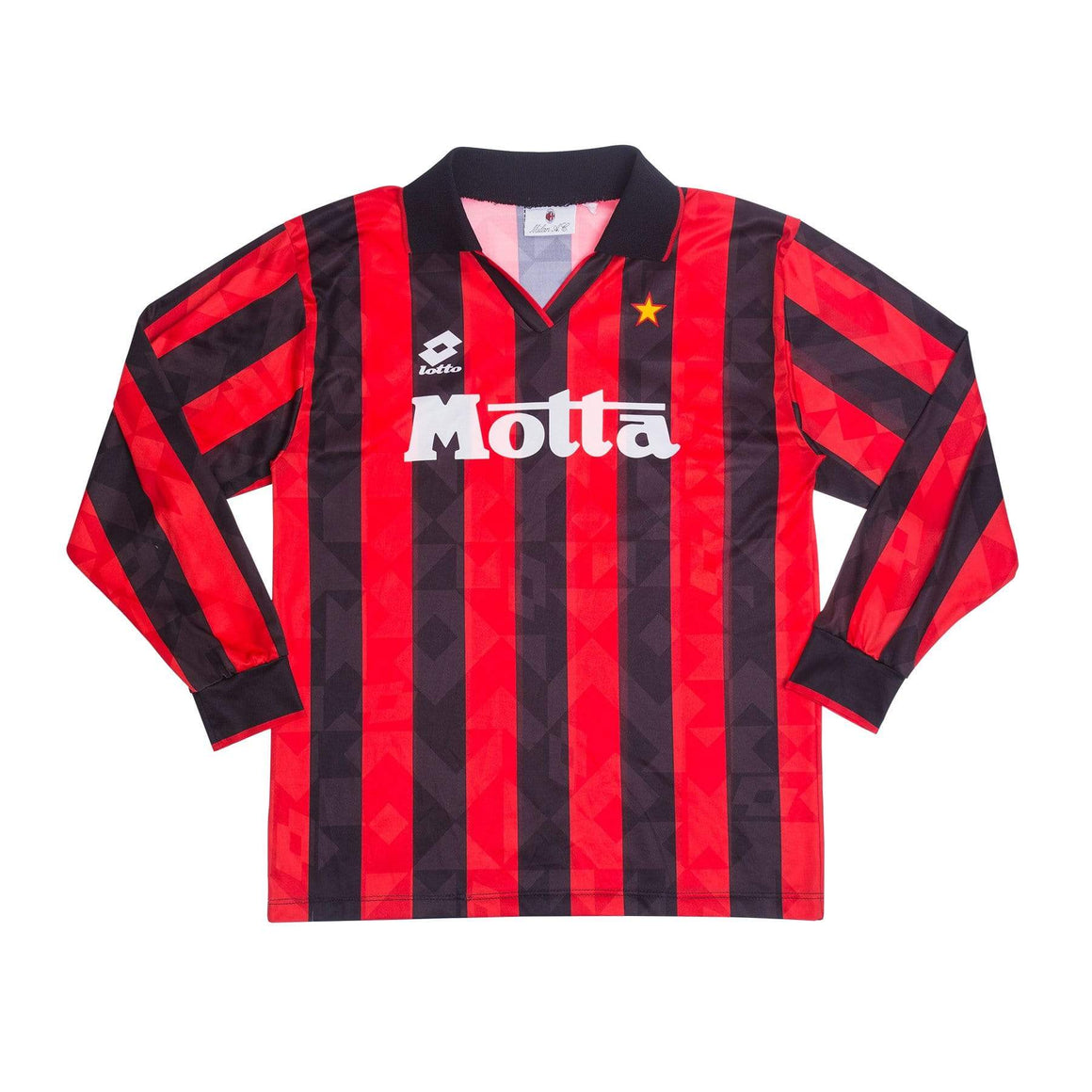 Football Shirt Collective 1993-94 AC Milan football shirt L L/S