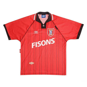 1993-95 Ipswich Town away shirt L Very Good - Football Shirt Collective