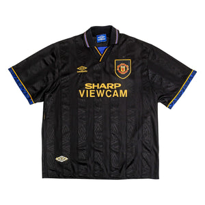 1993-95 Manchester United Away Shirt (Excellent) L - Football Shirt Collective