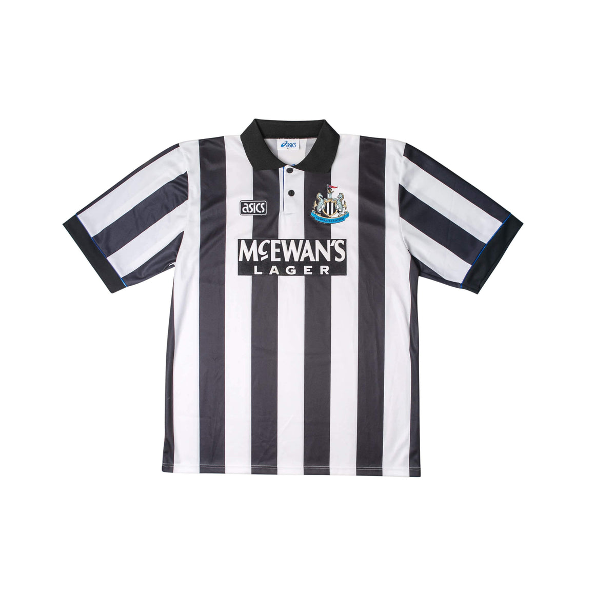 1993-95 Newcastle United home football Shirt XL (Excellent) - Football Shirt Collective