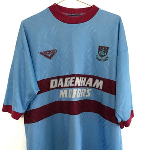 1993-95 West Ham Away Shirt XL - Football Shirt Collective