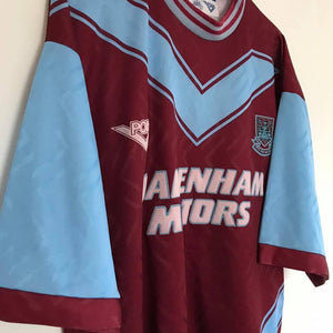 Football Shirt Collective 1993-95 West Ham Home Shirt L