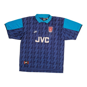 1994-95 Arsenal Away Shirt (Excellent) XXL - Football Shirt Collective