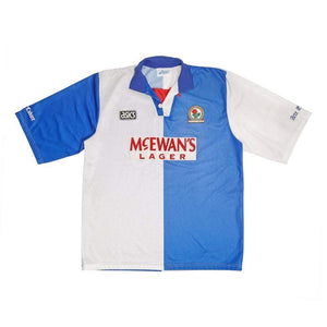 1994-95 Blackburn Rovers Home Shirt XL (Excellent) - Football Shirt Collective