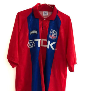 1994-95 Crystal Palace football shirt L #6 Excellent - Football Shirt Collective