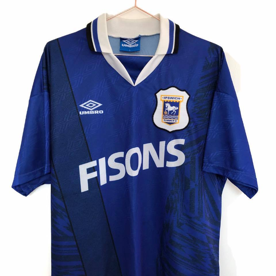 1994-95 Ipswich Town home shirt L Excellent - Football Shirt Collective