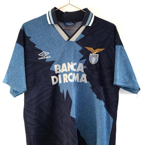 1994-96 Lazio away shirt M Excellent - Football Shirt Collective