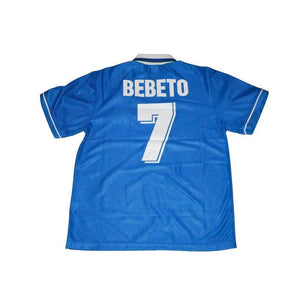 Football Shirt Collective 1994-97 Brazil away shirt Bebeto 7 M Excellent