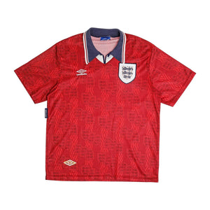 1994 England away football shirt XL Excellent - Football Shirt Collective