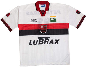 1995-96 Flamengo Centenary Away shirt #11 XL Excellent - Football Shirt Collective