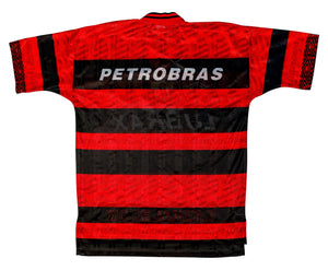 1995-96 Flamengo home shirt XL Excellent - Football Shirt Collective