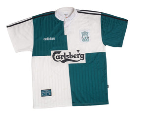 1995-96 Liverpool Away Shirt Excellent XL - Football Shirt Collective