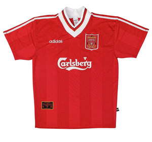 1995-96 Liverpool Home Shirt Excellent L - Football Shirt Collective