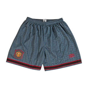 Football Shirt Collective 1995-96 Manchester United Away shorts (XL) Mint